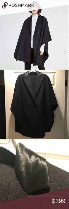 Elie Tahari ELSY Cape Wore it once almost brand new  Collar is black Elie Tahari Jackets & Coats Capes