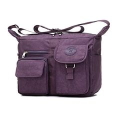 New Trending Shoulder Bags: Womens Shoulder Bags Casual Handbag Travel Bag Messenger Cross Body Nylon Bags Purple. Women's Shoulder Bags Casual Handbag Travel Bag Messenger Cross Body Nylon Bags Purple   Special Offer: $18.99      344 Reviews Women's Shoulder Bags Casual Handbag Travel Bag Messenger Bags Material: Nylon Size: 25CM x 29CM x 12CM Material:NylonColor:...