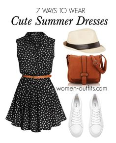 7 cute summer dresses for women outfit ideas - Find more outfit ideas for women at women-outfits.com