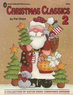cristmas classsic 2 by pat olson - Sabrina Cárcamo - Λευκώματα Iστού Picasa Wood Craft Patterns, Tole Painting Patterns, Paint Patterns, Tole Decorative Paintings, Christmas Books, Christmas Classics, Pintura Country, Theme Noel, Country Paintings