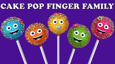 Cake Pop Finger Family Collection | Finger Family Collection | Daddy Finger Songs