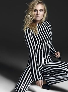 Diane Kruger in Marc Jacobs SS13 for S Moda