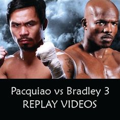 Watch Pacquiao vs Bradley 3 replay videos here. Pacquiao defeated Bradley by unanimous decision 116-110.