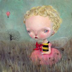 Incredible Paintings by Dilka Bear