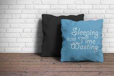 Pillow Mockup by Ahmad Muradi on @creativemarket
