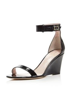 kate spade new york Ronia Ankle Strap Wedge Sandals | Bloomingdale's