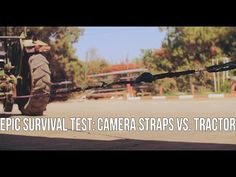 Epic Survival Test: Camera Straps vs. Tractor