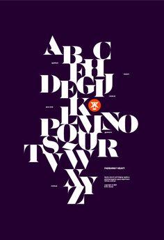 Sensaway typeface by Áron Jancsó