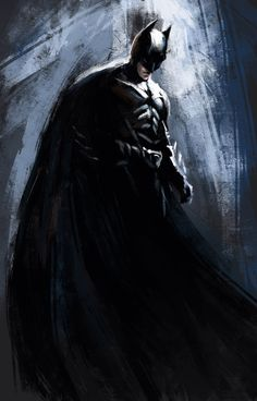 The Dark Knight Rises: Batman Art