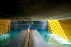 Piscina – Quinta de Santo Ovídio Santo Ovídio Swimming Pool  Lousada, Pt 2002  © Fernando Guerra, FG+SG Architectural Photography
