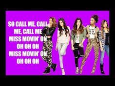 Miss Movin' On - Fifth Harmony Lyric Video