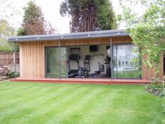 18 Fascinating Open Concept Gym Design Ideas For Healthy Life, 18 Fascinating Open Concept Gym Konzeption Ideas For Healthy Life 18 Fascinating Open Concept Gym Konzeption Ideas For Healthy Life 18 Fascinating Ope. Outdoor Gym, Outdoor Rooms, Backyard Gym, Patio, Home Gym Design, House Design, Gym Shed, Crossfit Home Gym, Gym Room At Home