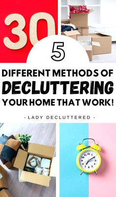 If nothing has worked for you in the past then maybe it's time to give one of these rare decluttering methods a test try! Maybe it's the change you need to succeed in removing all that clutter from your home once and for all. #ladydecluttered #decluttering #declutteringideas #howtodeclutteryourhome #clutter-freehome #howtodeclutter #howtoorganize #declutteringmethods #declutteringadvice #declutteringtips