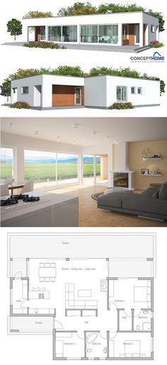 Image result for small frontage home exterior modern single storey ...