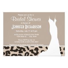 DealsAlmond Color Leopard Animal Print; Personalized Personalized Inviteswe are given they also recommend where is the best to buy