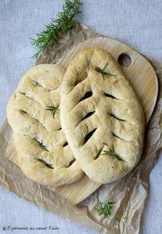 Experimente aus meiner Küche: Fougasse mit Kräutern #ichbacksmir #kräuter