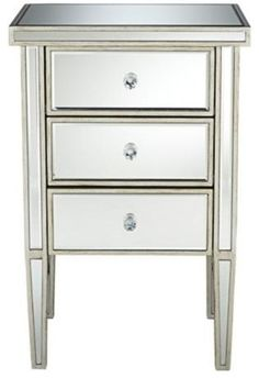 mirrored nightstand mirrored accent table mirrored furniture accent tables night stand master bedroom bedroom ideas bedside tables antique silver