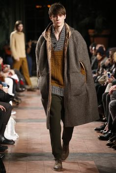 Billy Reid Men's RTW Fall 2015