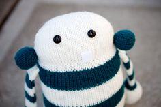 Cecil: Amigurumi Stuffed Animal Plush Monster Toy. $46.00, via Etsy.
