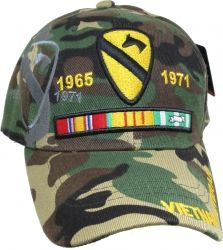 bc415ffcd4151 View Buying Options For The 1st Cavalry Division Vietnam Veteran Ribbon  Shadow Mens Cap Veteranos Do