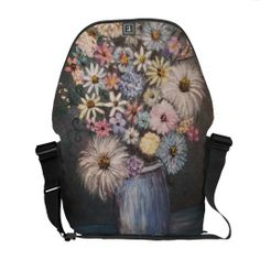 Bouquet of Flowers ART laptop/travel/book bag
