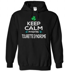 Keep - Tourette Syndrome - #gift for girlfriend #coworker gift. OBTAIN LOWEST PRICE => https://www.sunfrog.com/LifeStyle/Keep--Tourette-Syndrome-3636-Black-Hoodie.html?68278
