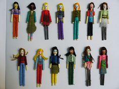 My Worry Dolls by Gwyneth Fischer, via Flickr