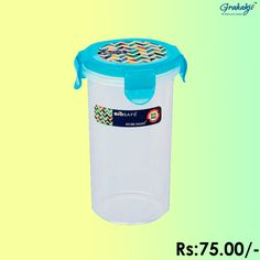 BIO SAFE ROUND CONTAINER 550 ML #BioSafe #EcoProducts #ContainerSet #online #grahakji #ContainerSet #shopping #lunchbox