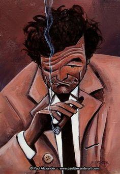 [ Peter Falk ]- artist: Paul Alexander - website: http://www.paulalexanderart.com