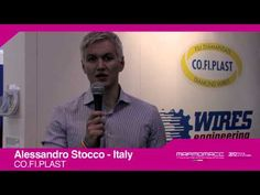 Marmomacc 2012: Alessandro Stocco interview (CO.FI. PLAST, Italy)