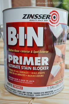 Shutters-zinsser shellac primer, seals knots