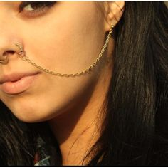 I officially want my nose chain back.