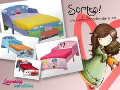 Sorteamos una cama infantil en www.mimitosdemama.es