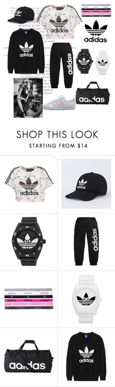 """Adidas"" by loiskinebanian ❤ liked on Polyvore featuring adidas Originals, adidas, Burton, love, sporty and sportystyle"