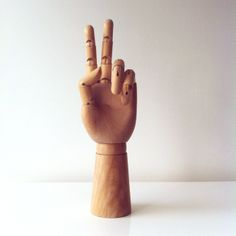 by Michal Rolland Wooden Hand, Still Life, Hands, Wall Art, Image, Wall Decor