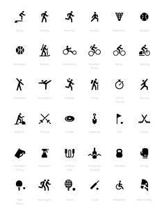 Google Fit UI Iconography #Design #UI