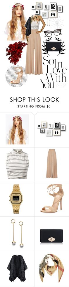 """""""Başlıksız #116"""" by aycanyl ❤ liked on Polyvore featuring ASOS, The Row, Casio, Gianvito Rossi and Burberry"""