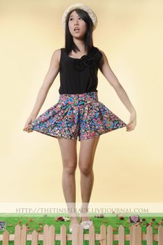 Floral Skort..hahaha had a lot of these when I was young..