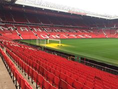 """""""Filming at OT this morning for Premier League News, and I'll be back tonight for Match Day Live on Manchester Uk, Manchester United Football, Premier League News, Eden Hazard, Education Humor, Football Stadiums, Old Trafford, Man United, Arsenal Fc"""