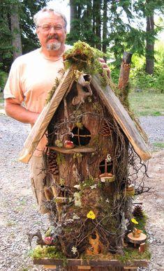 Large Gnome Home - wonderful natural details