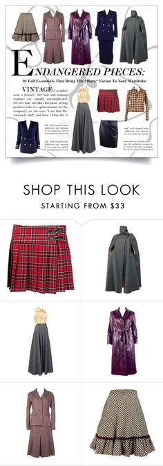 ENDANGERED PIECES: Vintage Fall Style by dustybutterflyvintage on Polyvore featuring Talbots, Northside, Ralph Lauren and vintage