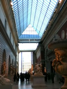 Metropolitan Museum Of Art main floor December 2012