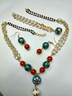 Fancy Jewellery, Jewelry, Beaded Necklace, Fashion, Beaded Collar, Moda, Jewlery, Jewerly, Pearl Necklace