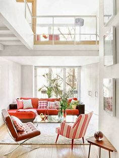 Boa noite decoradores!! O destaque de hj vai p o blog Arquitetura do Imóvel da Sílvia Terbeck e esse duplex simples e aconchegante! Venham ver mais -> http://www.blogsdecor.com/arquiteturadoimovel/duplex-com-base-neutra-e-planta-baixa-diferenciada/ #sala #room #livingroom #duplex