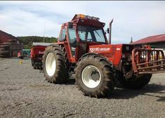 New Holland 110-90 Turbo with front linkage