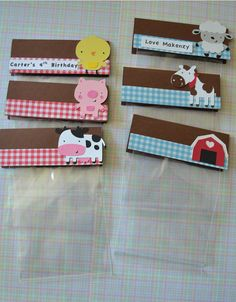 Farm Animals cowchicken pig horse sheep and barn by natebarn, $12.00