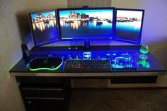 Kreative Ideen Gaming Schreibtisch