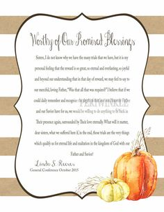 November 2015 LDS Visiting Teaching Message by periwinkleinc