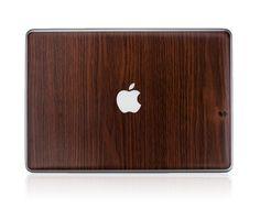 Woodgrain MacBook cover $10.00 #dad