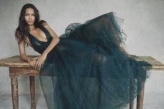 Lais Ribeiro / photographed by Patrick Demarchelier for the November 2014 issue of Vogue